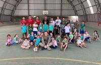 Polícia Militar realiza tarde de diversão para crianças em Criciúma
