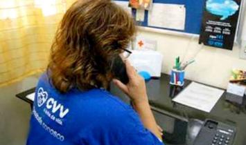 Ligações para o Centro de Valorização da Vida é gratuita e ajuda a salvar vidas