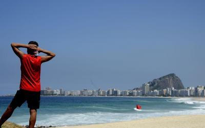 Prefeitura do Rio libera uso de máscaras em lugares abertos
