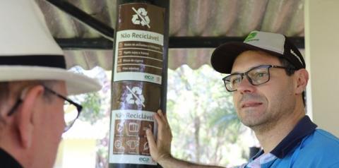 Mampituba orienta sócios sobre descarte correto de resíduos