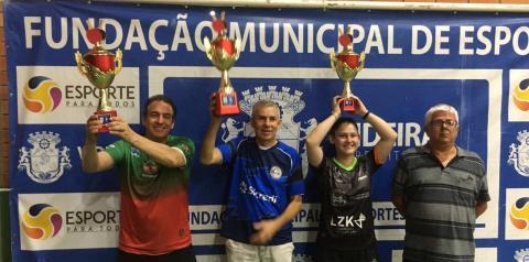Criciúma é vice-campeão da 1ª etapa do Circuito Catarinense de Tênis de Mesa