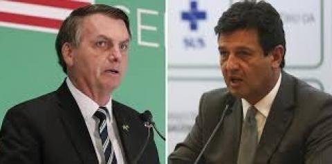Bolsonaro ameaça, mas desiste de demitir Mandetta nesta segunda-feira (6)