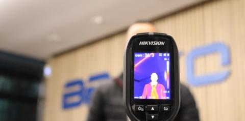 Câmeras de segurança de detecção de temperatura são novo investimento de empreendimentos e empresas