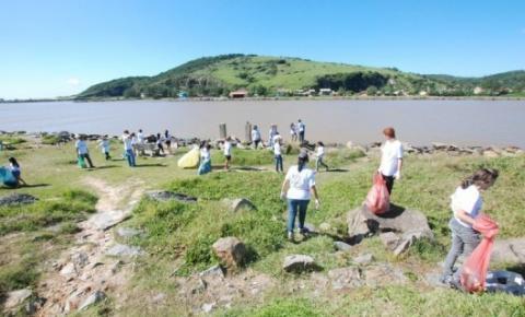 Sábado terá mutirão para limpar as praias de Laguna