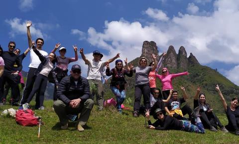 Turistas do sul catarinense conhecem formações geológicas no Alto Vale do Itajaí