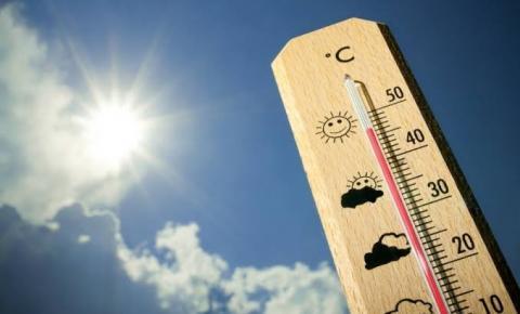 Temperaturas podem chegar aos 40º na região nesta quarta