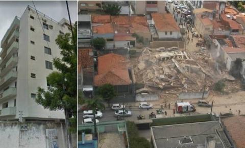 Bombeiros confirmam um morto e nove feridos em queda de prédio