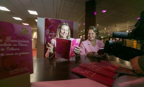 Alesc sedia lançamento de livro sobre a Rede Feminina de Combate ao Câncer de Orleans