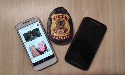 Pedófilo é preso em Operação da Polícia Federal em Palhoça