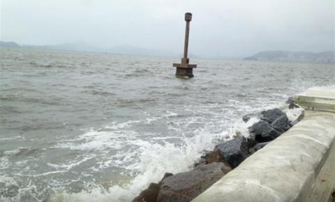 Defesa Civil emite alerta para Ciclone Subtropical em SC