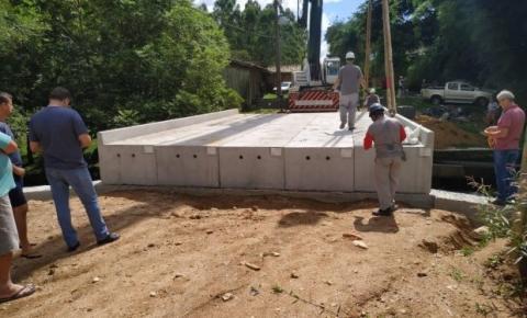Defesa Civil do Estado conclui instalação de oito pontes em Treze de Maio