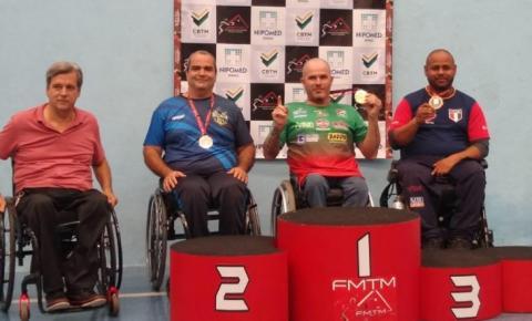 Mesatenista criciumense foi o campeão da Copa das Federações