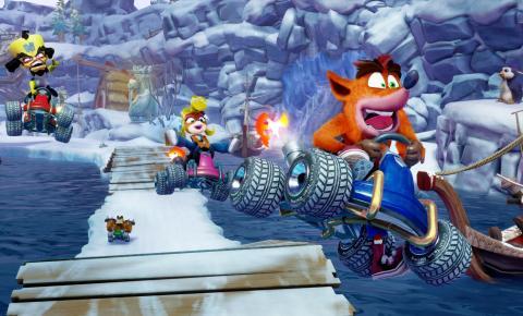 Crash Team Racing é o retorno triunfal do clássico jogo de corrida