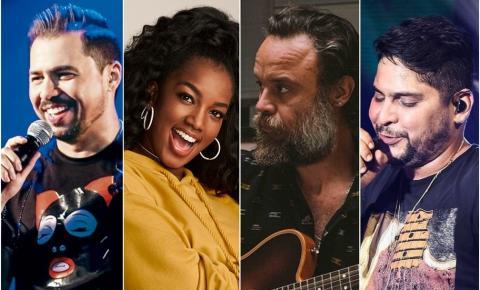 Lives da semana: confira a agenda de shows para assistir em casa
