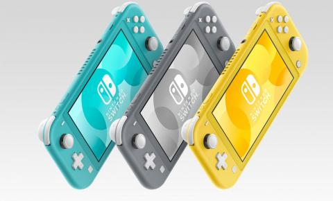 NINTENDO SWITCH LITE É A NOVA VERSÃO DO CONSOLE