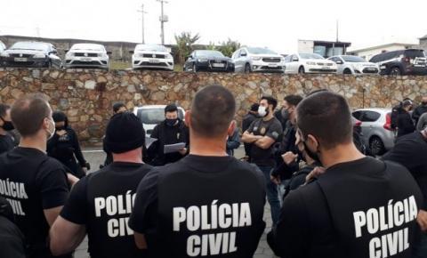 Polícia Civil realiza operação para cumprir 69 mandados de busca e apreensão contra golpes