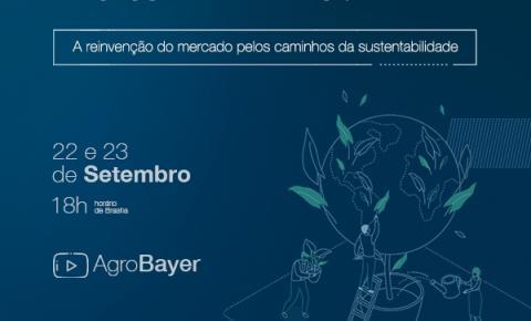 Mário Sérgio Cortella e Marcos Jank debatem a importância da sustentabilidade para o mercado em evento da Bayer