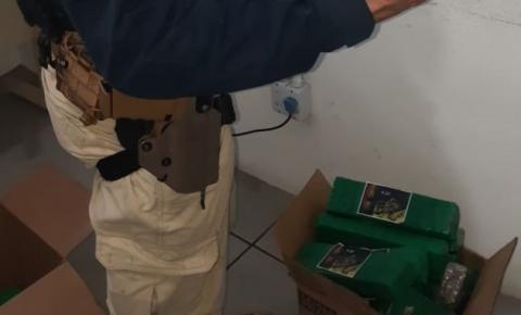 Após perseguição e acidente na BR-101, PRF apreende 30 quilos de maconha em carro de Criciúma