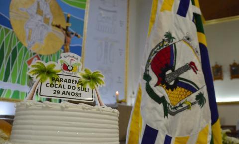 Missa marca a passagem dos 29 anos de emancipação de Cocal do Sul