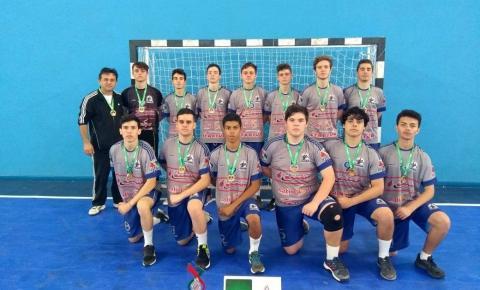Handebol Masculino é campeão na fase regional da Olesc