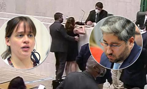 OPINIÃO: Deputado tarado apalpa seios de parlamentar