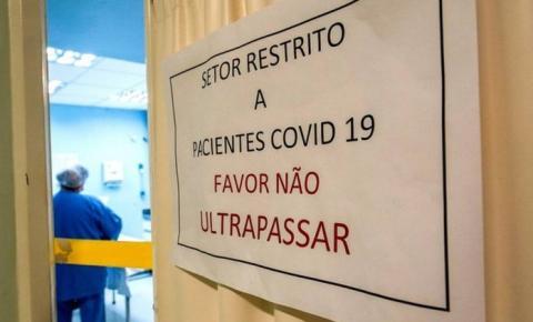 Número de internados com Covid-19 dispara em Criciúma