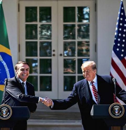 Trump diz que retirada de apoio ao Brasil na OCDE é 'fake news'