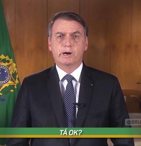 Paródia faz Bolsonaro e ministros cantarem 'lava uma mão'